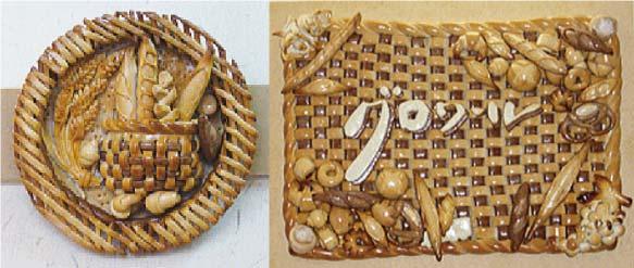 お店を彩る飾りパン